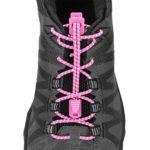 Run Laces Reflective rosa