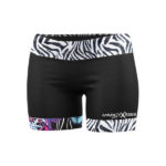Short slash butterfly black