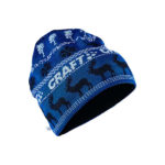 Retro knit hat burst