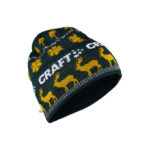 Retro knit hat pine buzz