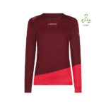 Daash Long Sleeve W Wine/Orchid