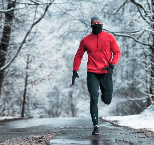 Correre durante le feste di Natale